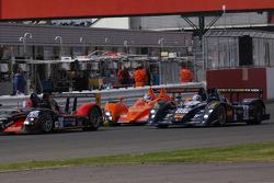 #5 Team LNT Ginetta-Zytek GZ09S: Lawrence Tomlinson, Nigel Mansell, Greg Mansell, #43 Q8 Oils Hache Team Lucchini - Judd: Maximo Cortes, Fonsi Nieto, Carmen Jorda