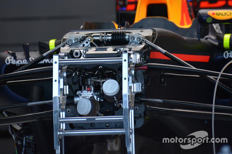 Red Bull Racing, dettaglio del muso
