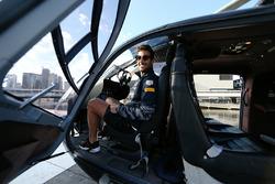 Daniel Ricciardo, Red Bull Racing voor helikoptervlucht