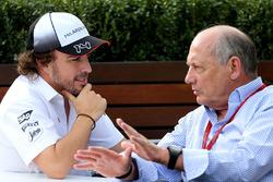 Fernando Alonso, McLaren und Ron Dennis, McLaren