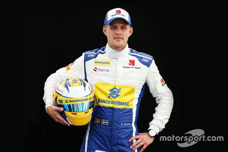 Маркус Эрикссон, Sauber F1 (2016)