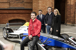 Pressekonferenz mit Daniel Abt und Alejandro Agag, CEO Formel E