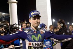 Ganador de la pole Jorge Lorenzo, Movistar Yamaha MotoGP, Yamaha
