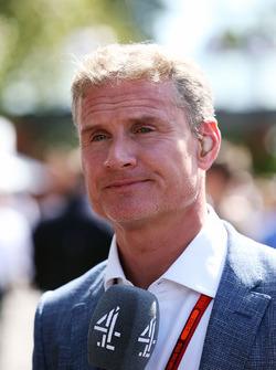 Дэвид Култард, советник команд Red Bull Racing и Scuderia Toro Advisor и комментатор Channel 4 F1