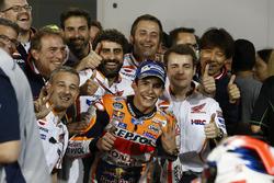 Marc Márquez, Repsol Honda Team, Honda en el parc ferme