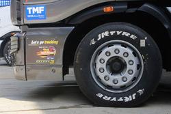 Tata T1 Prima truck, деталь