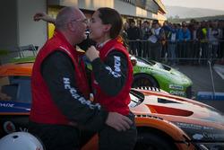 #10 Hofor-Racing Mercedes SLS AMG GT3: Michael Kroll, Chantal Kroll