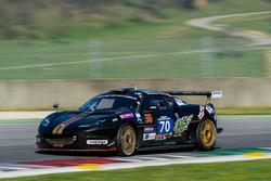 #70 Cor Euser Racing, Lotus Evora GT4: Einar Thorsen, Sam Allpass, Bas Barenburg, Cor Euser