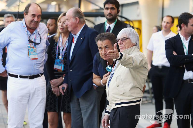 """""""Eu não acho que nós temos que ter obrigatoriamente um GP da Itália. Alguém uma vez me disse uma coisa engraçada, que não poderia haver F1 sem uma corrida na França. Mas temos F1 e não temos França."""""""