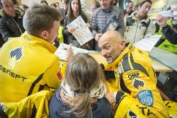 Nicky Catsburg, LADA Sport Rosneft, Lada Vesta en Gabriele Tarquini, LADA Sport Rosneft, Lada Vesta