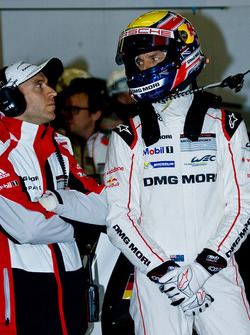 Timo Bernhard and Mark Webber