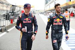 Daniel Ricciardo, Red Bull Racing und Max Verstappen, Scuderia Toro Rosso