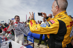 Norbert Michelisz, Honda Racing Team JAS and Tom Coronel, Roal Motorsport