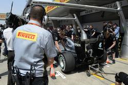 Пит-стоп Mercedes AMG F1 Team W07