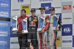 Podium: Winner Ralf Aron, Prema Powerteam Dallara F312 – Mercedes-Benz; second place Niko Kari (FIN) Motopark Dallara F312 – Volkswagen; third place Joel Eriksson (SWE) Motopark Dallara F312 – Volkswagen