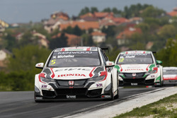 Норберт Михелиц, Honda Racing Team JAS, Honda Civic WTCC