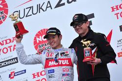 Winner Naoki Yamamoto, Team Mugen
