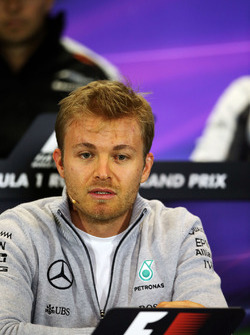 Nico Rosberg, Mercedes AMG F1 Team in the press conference