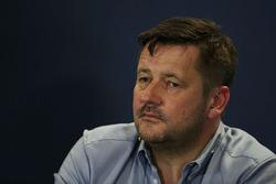 Paul Hembery, Pirelli Motorsport Director en la Conferencia de prensa