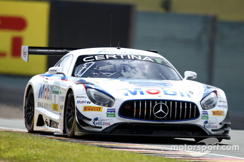 Zweiter Verfolger: Zakspeed-Mercedes #1