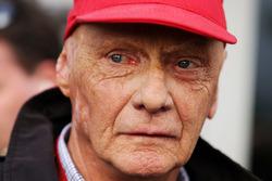 Niki Lauda, Mercedes Presidente No Ejecutivo