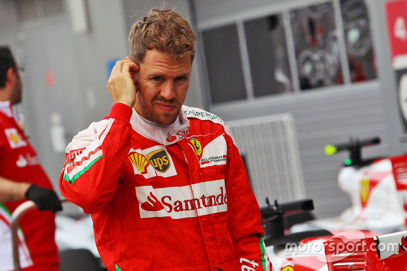 Второе место - Себастьян Феттель, Ferrari