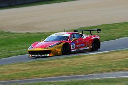 #50 Ineco - MP Racing, Ferrari 458: David Gostner