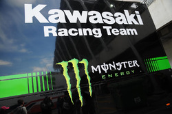 motorhome Kawasaki Racing Team