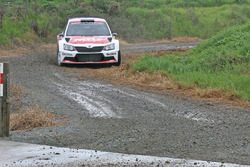 Fabian Kreim and Frank Christian, Skoda Fabia R5, Team MRF