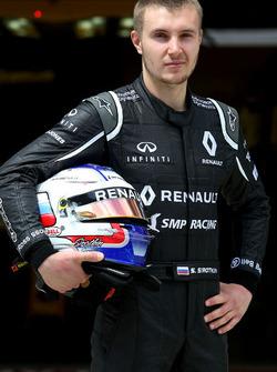 Серегй Сироткин, тестовый пилот Renault Sport F1 Team