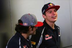 Carlos Sainz Jr., Scuderia Toro Rosso y Max Verstappen, Scuderia Toro Rosso