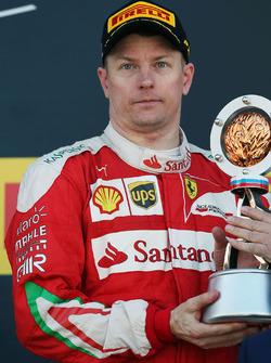 Podium: 3. Kimi Räikkönen, Ferrari