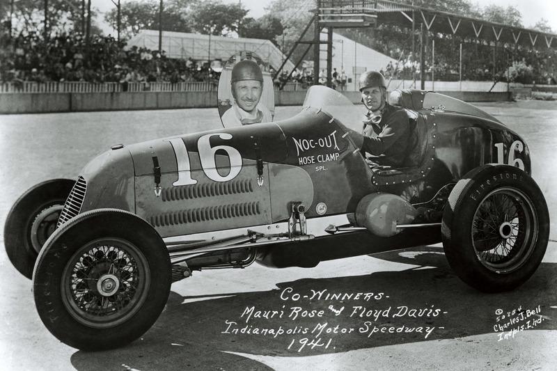 1941: Doppelsieger Floyd Davis und Mauri Rose