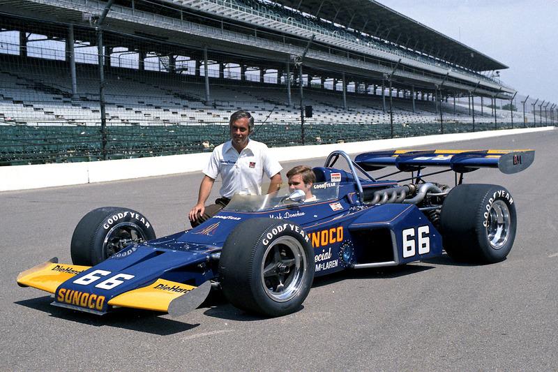1972: Roger Penske und Mark Donohue