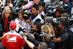 Sebastian Vettel, Ferrari con i media