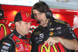 Jamie McMurray, Chip Ganassi Racing Chevrolet dan crew chief Matt McCall
