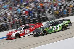 Ryan Reed, Roush Fenway Racing Ford, J.J. Yeley, TriStar Motorsports Toyota