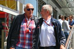 Dietrich Mateschitz, Red-Bull-Boss, und Dr Helmut Marko, Red-Bull-Motorsportberater