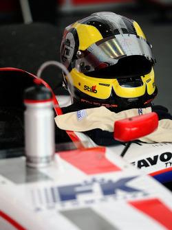 The helmet of Andy Soucek