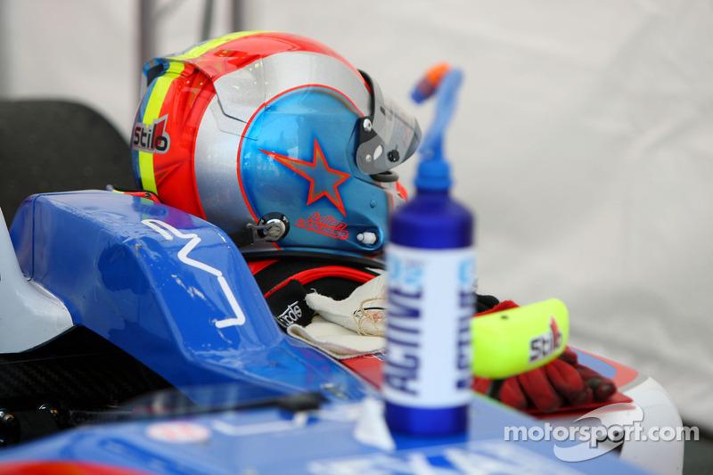 The helmet of Julien Jousse