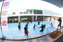 Run for the Earth water-polo match