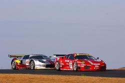 #51 AF Corse Ferrari F430: Alvaro Barba Lopez, Niki Cadei, #40 Marc VDS Racing Team Ford GT: Bas Leinders, Renaud Kuppens