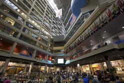 Inside the CNN Center