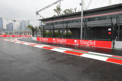 The new pitlane entrance