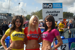 Jonny Adam's grid girls