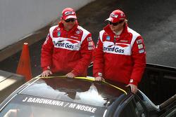 Driver Parade: #3 Sprint Gas Racing: Jason Bargwanna, Mark Noske