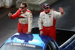 Driver Parade: #13 Jesus Racing: David Seiders, Andrew Fisher