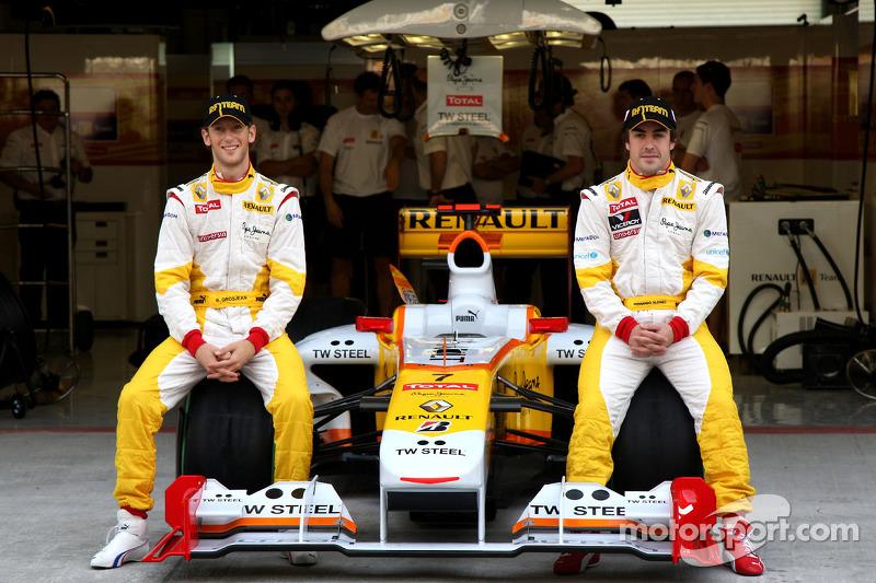 2009 год: Ромен Грожан, Renault. С 11 по 17 Гран При сезона