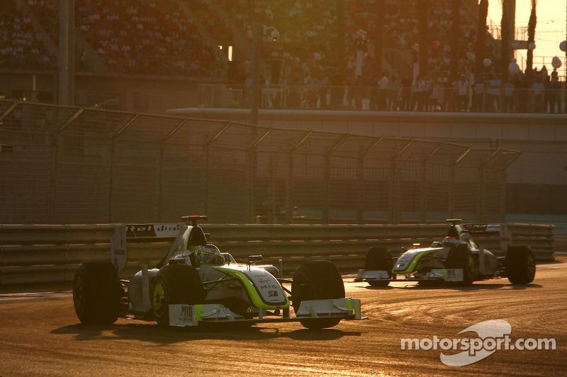 2009 - A Brawn GP tinha Jenson Button, campeão daquele ano