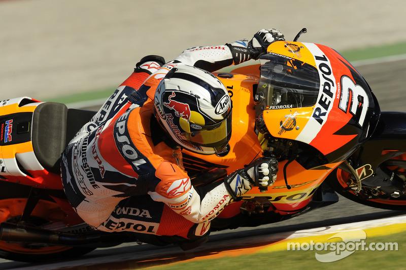 2009. Ese año Pedrosa lucía el número 3 en el carenado de su Honda, tras haber terminado en esa posición el Mundial de 2008.